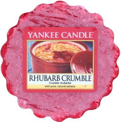 Yankee Candle Rhubarb Crumble cera derretida aromatizante
