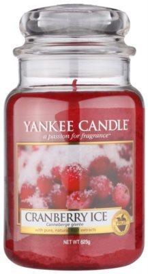 Yankee Candle Cranberry Ice ароматизована свічка   Classic велика