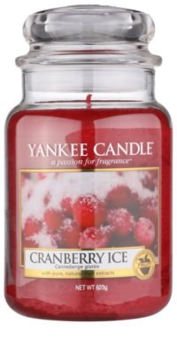 Yankee Candle Cranberry Ice Scented Candle  Classic Large