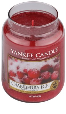 Yankee Candle Cranberry Ice vela perfumado  Classic grande 1