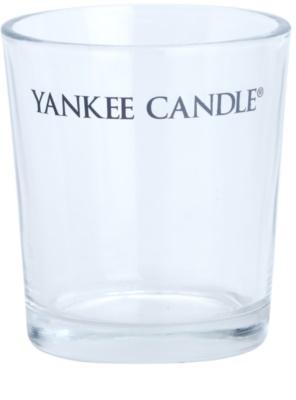 Yankee Candle Roly Poly Üveg gyertyatartó fogadalmi gyertya alá    (Pure)