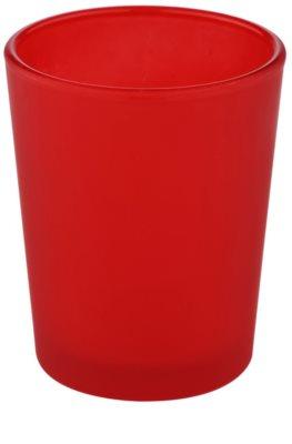 Yankee Candle Roller Skleněný svícen na votivní svíčku    (Red)