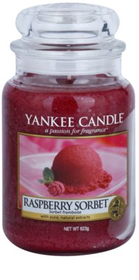 Yankee Candle Raspberry Sorbet świeczka zapachowa   Classic duża