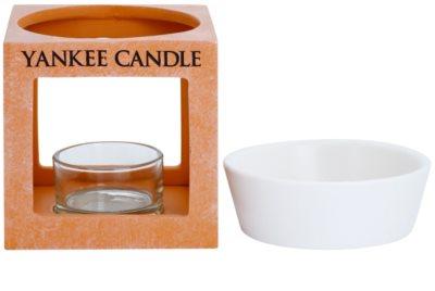 Yankee Candle Rustic Modern Ceramic Aroma Lamp     (Terracotta) 2