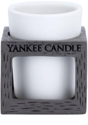 Yankee Candle Rustic Modern Керамична свещ с вотивна свещ    (Grey)