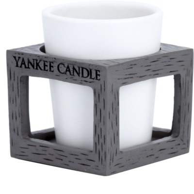 Yankee Candle Rustic Modern Candeeiro em cerâmica para vela    (Grey) 1