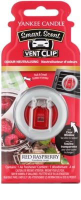 Yankee Candle Red Raspberry ambientador auto  clip