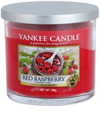 Yankee Candle Red Raspberry illatos gyertya   Décor kicsi