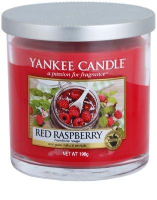 Yankee Candle Red Raspberry vonná svíčka  Décor malá