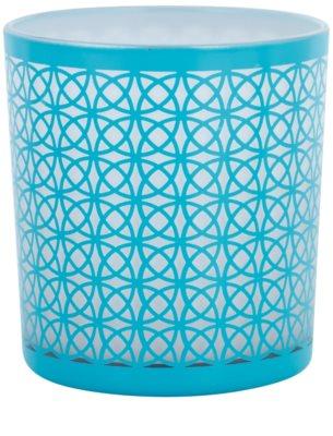 Yankee Candle Sanremo Стъклен свещник с вотивна свещ    (Aqua)