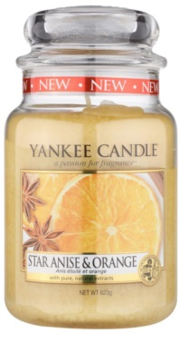 Yankee Candle Star Anise & Orange Duftkerze   Classic groß