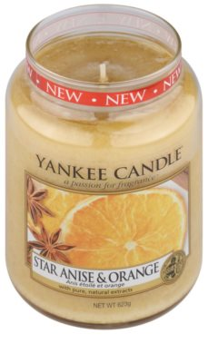 Yankee Candle Star Anise & Orange lumanari parfumate   Clasic mare 1