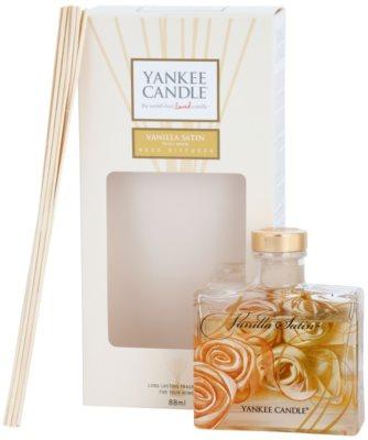Yankee Candle Vanilla Satin difusor de aromas con el relleno  Signature