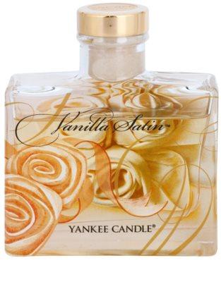 Yankee Candle Vanilla Satin difusor de aromas con el relleno  Signature 1