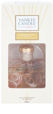 Yankee Candle Vanilla Satin difusor de aromas con el relleno  Signature 2