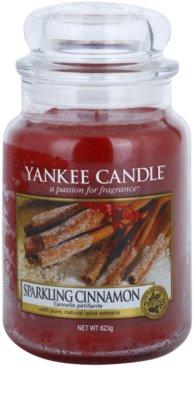 Yankee Candle Sparkling Cinnamon ароматна свещ   Classic голяма
