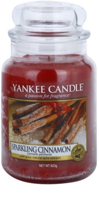 Yankee Candle Sparkling Cinnamon illatos gyertya   Classic nagy méret