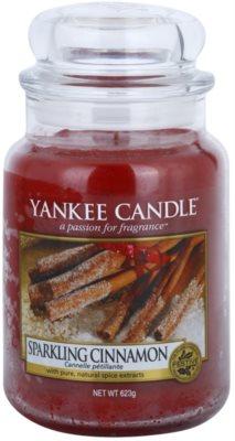 Yankee Candle Sparkling Cinnamon vonná sviečka  Classic veľká