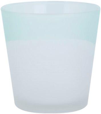 Yankee Candle Serene Sandlblast candeeiro em vidro para vela    (Aqua)