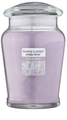 Yankee Candle Silver Lavender Duftkerze   mittlere