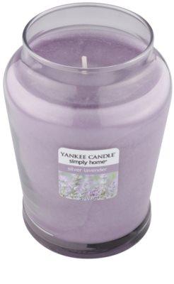 Yankee Candle Silver Lavender Duftkerze   mittlere 1
