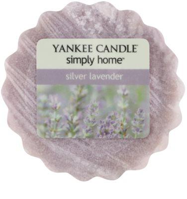 Yankee Candle Silver Lavender cera derretida aromatizante