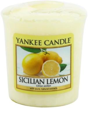 Yankee Candle Sicilian Lemon velas votivas