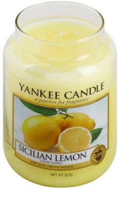 Yankee Candle Sicilian Lemon Duftkerze   Classic groß 1