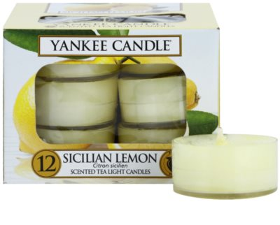 Yankee Candle Sicilian Lemon Чаена свещ