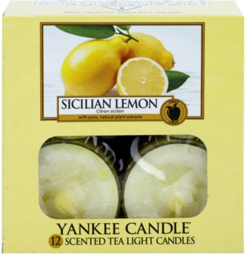 Yankee Candle Sicilian Lemon Чаена свещ 2