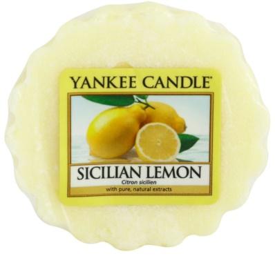 Yankee Candle Sicilian Lemon ceară pentru aromatizator