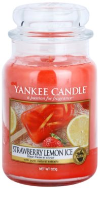 Yankee Candle Strawberry Lemon Ice Scented Candle  Classic Large