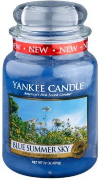 Yankee Candle Blue Summer Sky vela perfumado  Classic grande