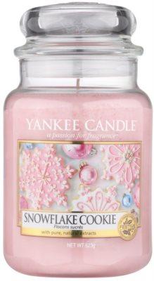 Yankee Candle Snowflake Cookie ароматизована свічка   Classic велика