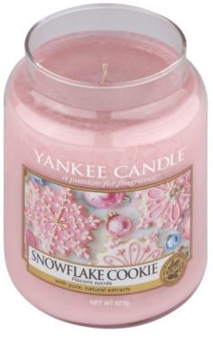 Yankee Candle Snowflake Cookie vonná svíčka  Classic velká 1