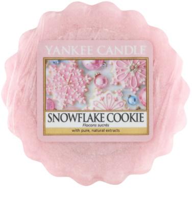 Yankee Candle Snowflake Cookie ceară pentru aromatizator