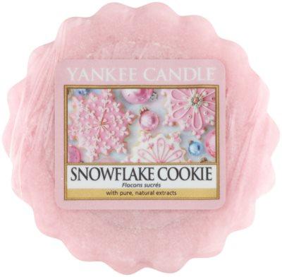 Yankee Candle Snowflake Cookie Wachs für Aromalampen