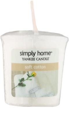 Yankee Candle Soft Cotton votivna sveča