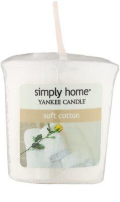 Yankee Candle Soft Cotton votivní svíčka