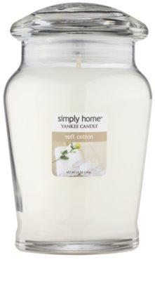 Yankee Candle Soft Cotton vonná svíčka  střední
