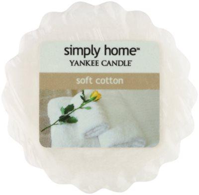 Yankee Candle Soft Cotton ceară pentru aromatizator