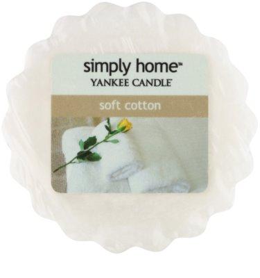 Yankee Candle Soft Cotton Wachs für Aromalampen