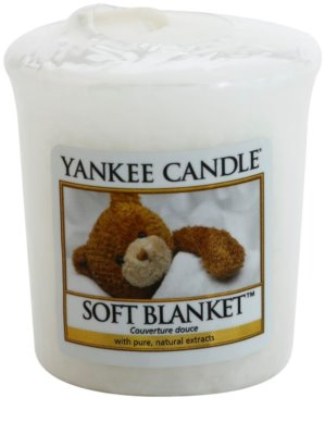 Yankee Candle Soft Blanket votívna sviečka
