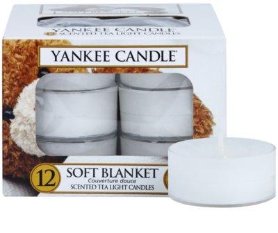 Yankee Candle Soft Blanket čajová svíčka