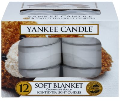 Yankee Candle Soft Blanket Чаена свещ 2