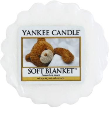 Yankee Candle Soft Blanket illatos viasz aromalámpába