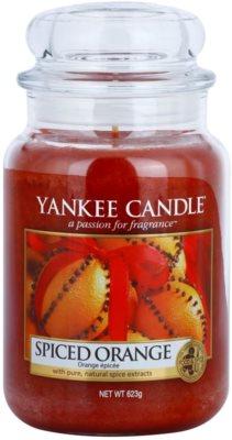Yankee Candle Spiced Orange dišeča sveča   Classic velika