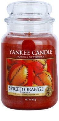 Yankee Candle Spiced Orange illatos gyertya   Classic nagy méret