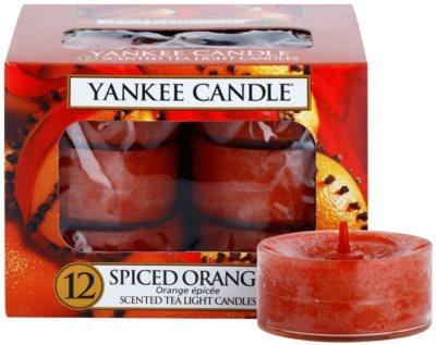Yankee Candle Spiced Orange čajová svíčka