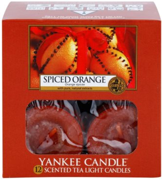 Yankee Candle Spiced Orange vela de té 2